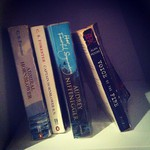 My bookshelf - ignore the Hornblower, it's a long story...